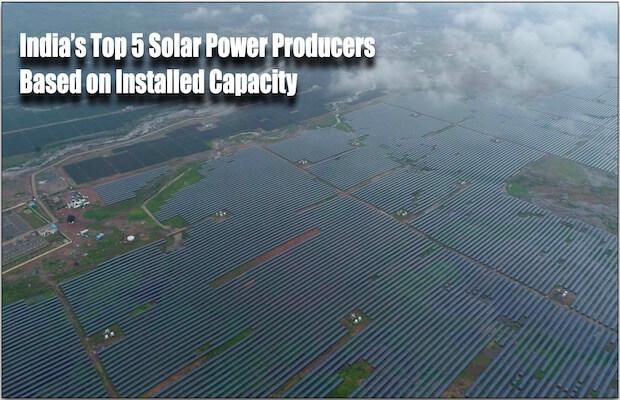 Top 5 Solar Power Producers