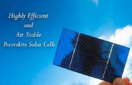 Perovskite Solar Cells, Coming Soon To a Product Near You