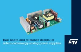STMicroelectronics Eases Design of Advanced Energy-Saving Power Supplies with Eco-Certified 400W Evaluation Board