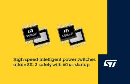 STMicroelectronics Reveals Fast-Starting Intelligent Power Switches for Demanding Safety Applications