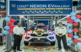 New EV Milestone for Tata Motors as it Rolls out its 1000th Nexon EV