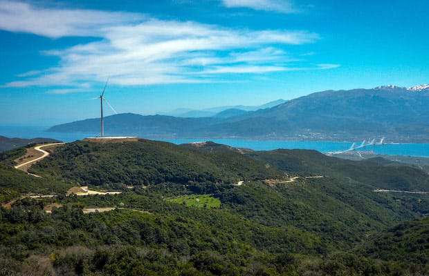 Greece Record Low Price Wind