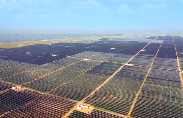 China's Largest Solar Plus Storage Project