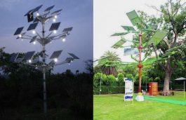 CMERI Installs World's Largest Solar Tree at Durgapur