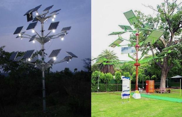 World's Largest Solar Tree