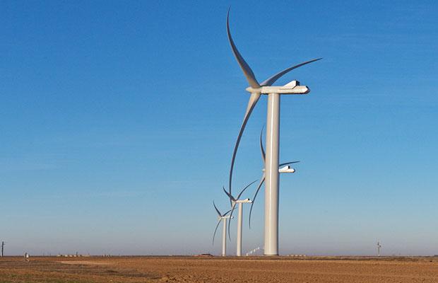 Bearkat wind energy project