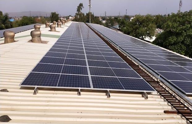 Delhi Metro Rooftop Solar