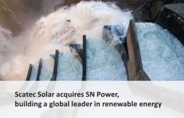 Scatec Solar acquires SN Power, building a global leader in RE