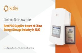 Solis Conferred With Best Power Conversion System Supplier Award