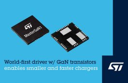 STMicroelectronics Pioneers Smaller and Faster Chargers and Power Supplies
