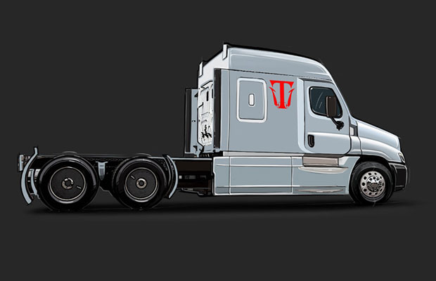 Triton-EV Debuts Fully Electric 18-Wheeler Semi Truck