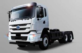 Electric Tractor-Trailer Vehicles are the latest addition to DHL's Green Fleet