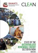 CLEAN Network Report on State of the Decentralized Renewable Energy Sector in India 2019/20