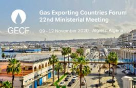 GECF Ministerial Meeting and associated events to be held virtually