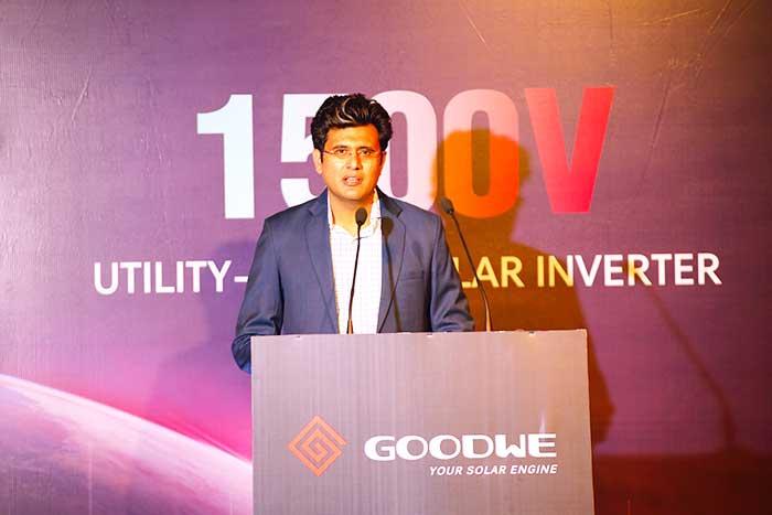 GoodWe solar inverter Product ceremony