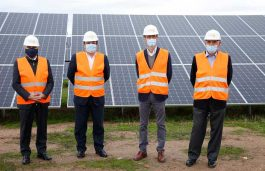 Bruc and Solarpack open a 100 MW photovoltaic plant in Extremadura