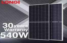 Bifacial Shipments for Longi Solar Cross 10 GW Milestone