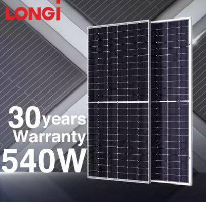 longi solar 540w
