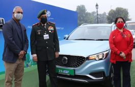 MG ZS EV Participates in First-Ever EV Trial-Run Between Delhi and Agra