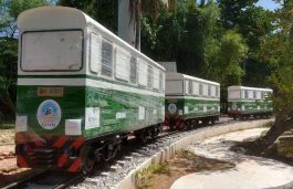 First Solar Powered Miniature Train in India Launched in Kerala
