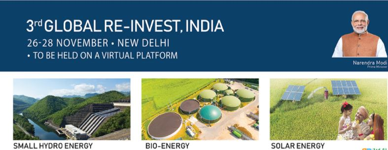 3rd global RE-INVEST, India