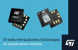 STMicroelectronics Collaborates with Qualcomm Technologies on Unique Sensor Solutions for Next-Gen Mobile, IoT, and Wearable Applications