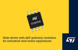 STMicroelectronics Introduces High-Voltage Gate Driver with 6kV Galvanic Isolation