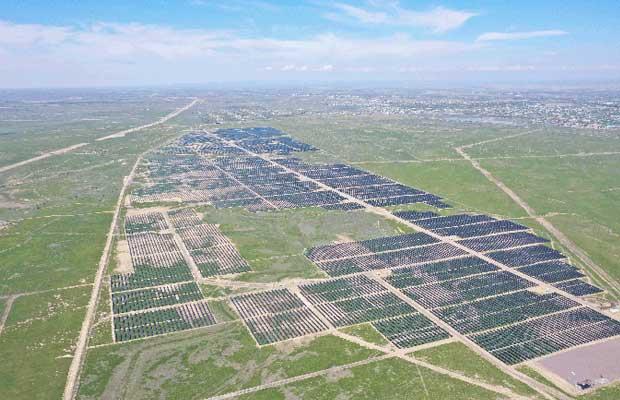 Sungrow inverters at Kazakhstan M-KAT project