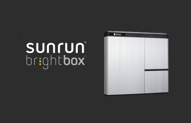 Sunrun Brightbox rechargeable home battery