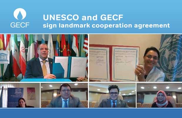 GECF UNESCO MoU