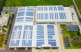 Sungrow Hits 2 GW Shipment of SG110CX for Vietnam Rooftops