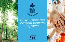 STMicroelectronics to be Carbon Neutral by 2027