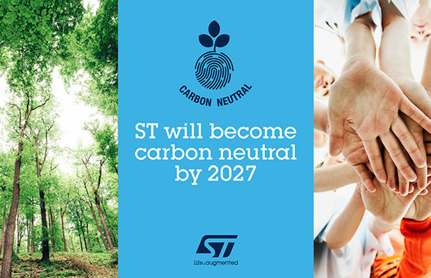 STMicroelectronics to be Carbon Neutral
