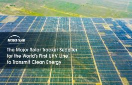 Arctech Solar Trackers Lead Among Those Used At  3.2GW Solar Park in China