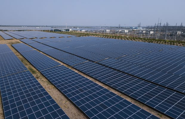 AGEL Solar Plant at Kutchh