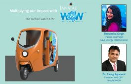 Jal Shakti Ministry selected JanaJal WOW for it's Jal Jeevan Mission | Interview with the CEO