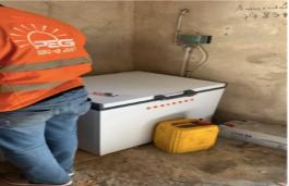 Solar Powered Refrigeration PEG Africa