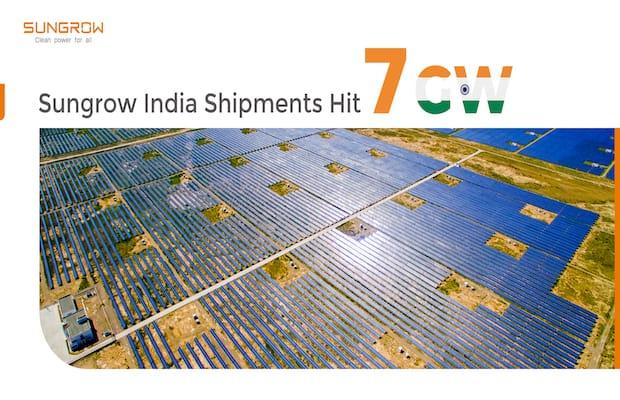 Sungrow Ends 2020 on High, Crossing 7 GW PV Inverter Shipments in India -  Saur Energy International