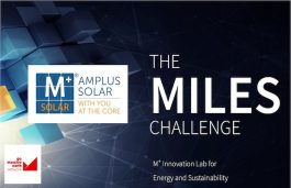 Amplus Solar Announces the Finalists of 'The MILES Challenge'
