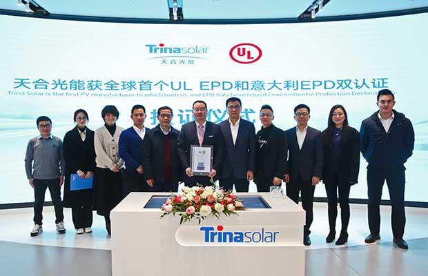 Trina Solar headquarters in Changzhou