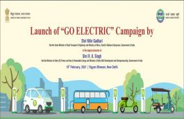 MoRTH Launches 'Go Electric' Campaign To Promote E-Mobility & E-Cooking