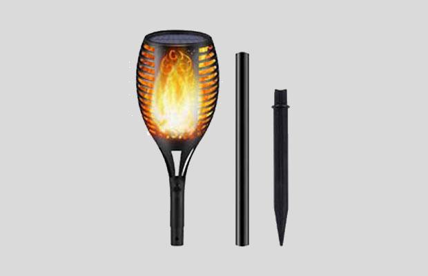 Voroly Solar Garden Light Scene Torch