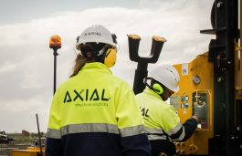 Axial begins the supply and installation of 150MW of its AxialTrack