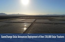 GameChange Solar Announces Deployment of Over 230,000 Solar Trackers
