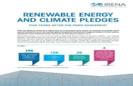 Five Years After Paris Agreement, Slow Progress On RE Commitments- IRENA