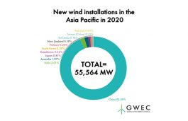 GWEC: China Blows Past Global Wind Power Records, Doubling Annual Installations in 2020