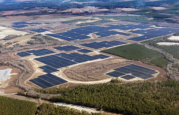 Snipesville Solar Site in Jeff Davis County