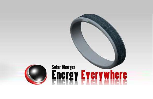 Solar Charger - The Bracelet