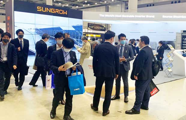 Sungrow Bags 500 MW Strategic Agreements during PV Japan Expo