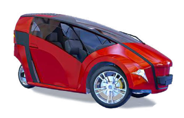 The VEGAN Electric Self-Charging Solar Tricycle